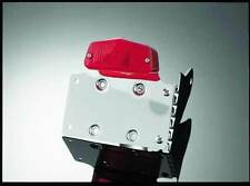 Support latéral plaque d'immatriculation avec éclairage - moto custom trike