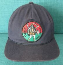 e20d314226b OBEY PROPAGANDA Baseball Hat Black SNAPBACK CAP Tribal Skateboard Street  RARE!