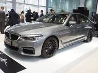 Winterreifen BMW 5er G30 G31 Breyton Race LS2 mattblack 8,5x19 Nokian