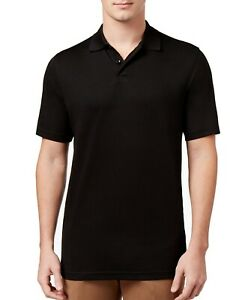 Tasso Elba Mens Cotton Slub Tee Polo Shirt BHFO 2752
