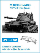 1/35 ATL142 FRIULMODEL WORKABLE TRACK for  M48 PATTON  & M60 BLAZER - PROMOTE