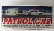 Hess Patrol Car 1993 Emergency Flashers Siren NIB