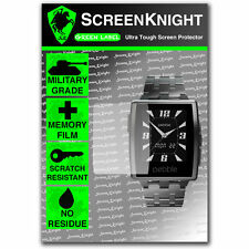 Screenknight Pebble ACCIAIO intelligente Watch Front Screen Protector INVISIBLE SHIELD