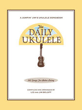 THE DAILY UKULELE 365 SONGS FOR BETTER LIVING SONG BOOK NEW JUMPIN JIM