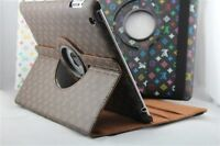 New iPad 4 Gen 3 3rd 2 360 Rotating Magnetic PU Leather Case Smart Cover Stand