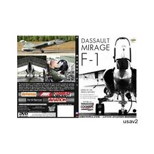 Dassault Mirage F-1 Aircraft -FRENCH AIR FORCE Military Video DVD-New