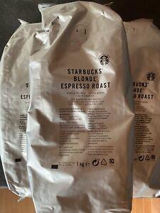 Starbucks Blonde Roast Espresso Beans 1kg