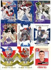 2009-10 In The Game Between The Pipes Hockey 45-Card Master Insert Set