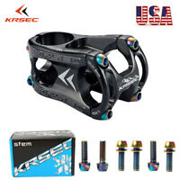 US KRSEC Stem 50mm Aluminum Alloy For MTB Bike 28.6mm Fork Handlebar Short Stem