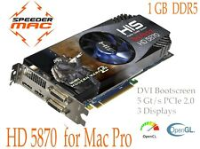  ATI Radeon HD 5870 1GB Ram DDR5, EFI modifiée tout Apple Mac Pro 1.1 > 5.1