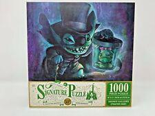 Disney Stitch Hatbox Ghost Haunted Mansion Signature Puzzle 1000 Piece Parks NEW