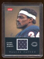 2004 FLEER GREATS WALTER PAYTON GAME JERSEY /300 THE GLORY OF THEIR TIME HOF RB