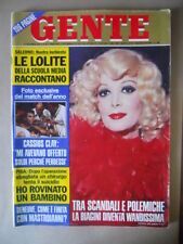 GENTE n°46 1974 Le Lolite di Salerno Isabella Biagini Cassius Clay  [G234]