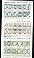Niederlande Michelnummer Kleinbogen 880 - 882 postfrisch
