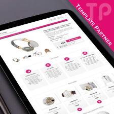 Ebayvorlagen ★ CRYSTAL Responsive Ebay Vorlagen Template fuchsia + Editor