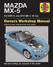 Reparaturhandbuch Mazda MX 5 NB/NC Europa-Version 2006-2015 Brandneu!