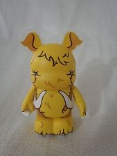 "Disney Vinylmation Urban Redux #2 Yellow Woolly Mammoth 3"" Mickey Mouse Figure"