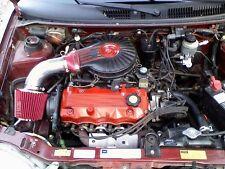 SHORT RAM AIR INTAKE KIT + RED FILTER For 91-97 Geo Metro 1.0L L3 / 1.3L L4