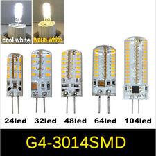 G4 3014 SMD 3W 4W 5W 7W Silicone Crystal Lamp Light LED Bulb Chandelier Bombilla