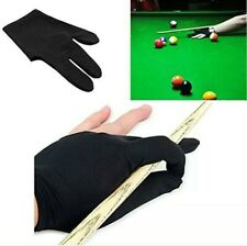 PRO Stretchable 3 Fingers Left Hand Billiard Glove Pool Cue Snooker Shooters