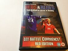 REDS AND BLUES THE BALLAD OF DIXIE AND KENNY DVD - UK RELEASE - REDS EDITION