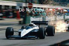 Riccardo Patrese Brabham BT56 Austrian Grand Prix 1987 Photograph