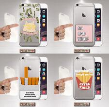 Cover per,Iphone,FRASI,silicone,morbido,TRENDY,TRASPARENTE,CARINO,GIRLY,GATTO