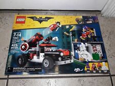 NEW LEGO 70921 THE BATMAN MOVIE HARLEY QUINN CANNONBALL ATTACK 425 PIECES 7-14