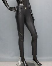 FREDDY WR.UP Faux Leather Trousers Shaping Skinny Pants UK10