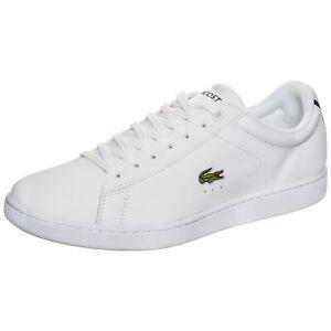 Lacoste Carnaby Evo Sneaker Herren Weiß NEU Schuhe Turnschuhe