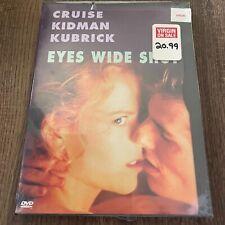 New Eyes Wide Shut 2000 Dvd *Rare/Htf* Sealed Kubrick Kidman Cruise