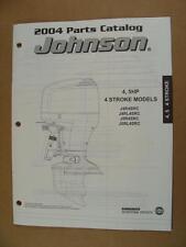 2004 Omc Johnson Sr 4 5 Hp 4-Stroke Outboard Motor Engine Parts Catalog 5034419