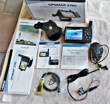 Garmin GPSMAP 276C Chartplotter Bundle With Mount, AC Adapter, Power/Data Cable
