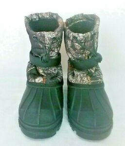 RED HEAD THINSULATE SNOWBOARD BOOTS KID'S SIZE (4)