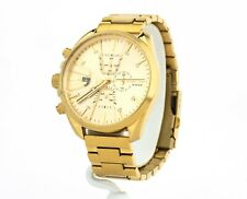 Diesel Watch Men's MS9 Chrono Gold-Tone Watch DZ4475, New