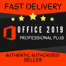 New ListingMicrosoft Office 2019 Professional Plus 32/64bit License Key Instant Delivery