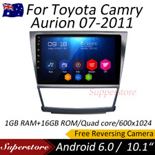"10.1"" Android 6.0 4-core GPS Navi Car Multimedia player For Toyota Camry Aurion"