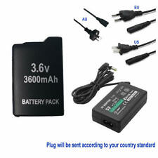FOR SONY PSP 1000 1001 Extended Battery +5V AC Adapter Home Charger Power Supply