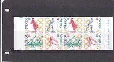 SWEDEN - SG1588-1591 MNH 1991 OLYMPIC GAMES GOLD MEDALLISTS - BOOKLET