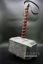 CATTOYS 1:1 Full Metal Avengers Thor Hammer Replica Prop Mjolnir [No wooden Box]