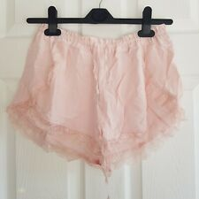 Abercrombie & Fitch Pink Lace Shorts - Medium (New)