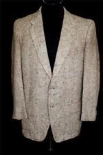 Cappotti e giacche vintage da uomo grigie 100% Lana