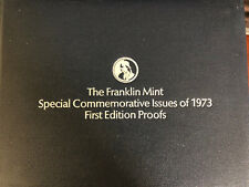 Franklin Mint Special Commemorative Issue 1973 First Edition Proofs-36pc Bronze