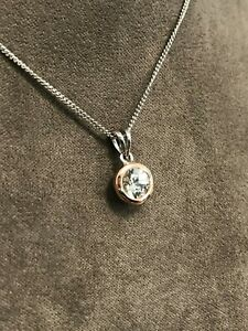 "Official Clogau Silver & Rose Gold Celebration Pendant (22"") £60 off!"