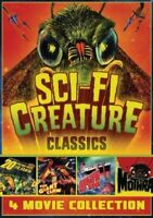 Sci-Fi Creatures Classics 4 Movie Set Giant Claw + Mothra +20 million New DVD R1