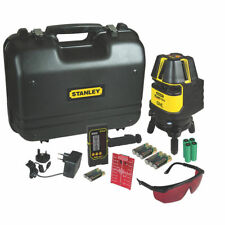 NEW -Stanley FatMax 1-77-322 Multi-Line Laser Level with Detector