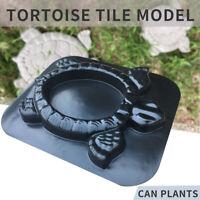 Turtle Stone Plant Flowers Mold Concrete Cement Mould Tortoise Garden DIY Lawn