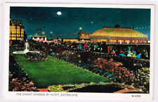 EASTBOURNE - The Carpet Gardens By Night - c1950s
