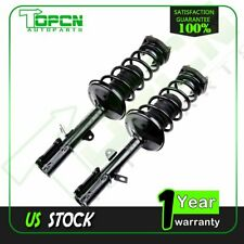 Rear (2) Strut Coil Spring For 1993-2002 Toyota Corolla Chevy GEO Prizm NO WAGON