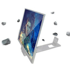 "14"" Mobile Phone Screen Magnifier 3D Video Amplifier Smartphone Stand Bracket vi"